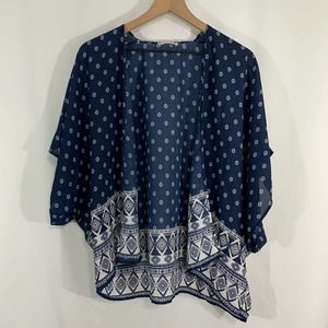 TeenBell open front cardigan / small